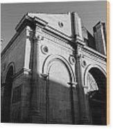 Tempio Malatestiano In Rimini Italy  Wood Print