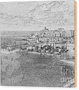 Tenby Harbor Wood Print