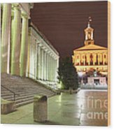 Tennessee State Capitol Wood Print