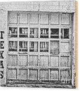 Texas Junk Co. Wood Print