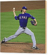 Texas Rangers V Baltimore Orioles 1 Wood Print