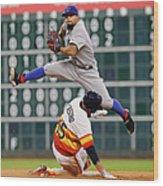 Texas Rangers V Houston Astros 1 Wood Print