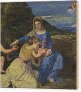 The Aldobrandini Madonna Wood Print