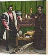 The Ambassadors Wood Print