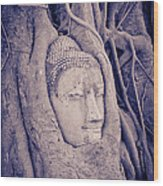 The Ancient City Of Ayutthaya Wood Print