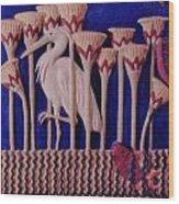 The Apparition Detail Wood Print