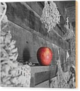 The Apple Wood Print by Laurinda Bowling