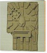 The Aztec Wood Print