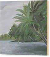 The Backwaters Wood Print
