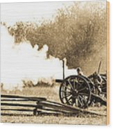 The Battle Wood Print