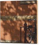 The Bike  Wood Print