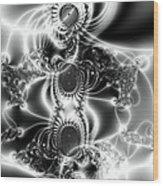The Birth Of Gods Wood Print