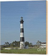 The Bodie Island Light House Wood Print