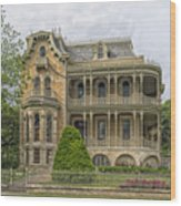 The Bremond House Wood Print