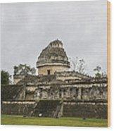 The Castillo In Chichen Itza Wood Print