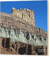 The Castle Capitol Reef National Park Utah Wood Print