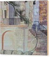 The Cistern Wood Print