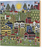 The Dairy Festival Wood Print