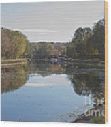 The Erie Canal  Wood Print