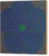 The Flower 4 Wood Print