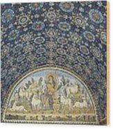 The Good Shepherd. 5th C. Italy Wood Print