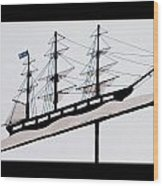 The Good Ship Bethel Wood Print