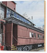 The Grand Trunk Western Depot  Wood Print