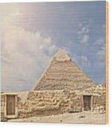 The Great Pyramid Wood Print