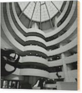 The Guggenheim Museum In New York City Wood Print