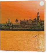 The Haji Ali Dargah Wood Print