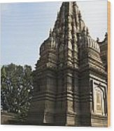 The Hindu Temple Wood Print