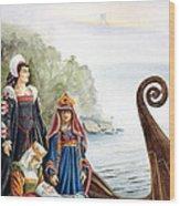The Isle Of Avalon Wood Print