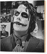 The Joker Wood Print