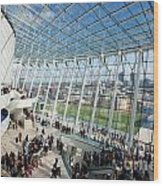 The Kauffman Center For Performing Arts Wood Print