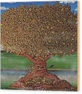 The Lending Tree Wood Print