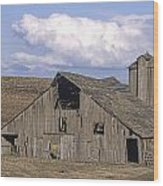 The Lewiston Breaks Barn Wood Print