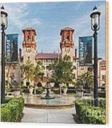 The Lightner Museum Formerly The Hotel Alcazar St. Augustine Florida Wood Print