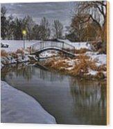 The Lonely Bridge Wood Print