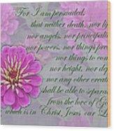 The Love Of God Wood Print