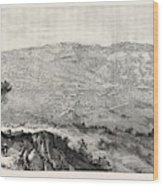 The Military Expedition To Manipur Eastern Frontier Wood Print