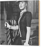 The More The Merrier, Jean Arthur, 1943 Wood Print