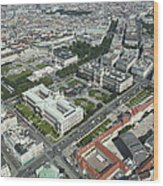 The Museums Area And Hofburg Palace Wood Print