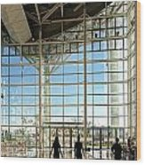 The New Kaohsiung Exhibition Center Wood Print by Yali Shi