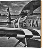 The North American L-17 Navion Aircraft Wood Print