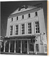 the old vic theatre London England UK Wood Print