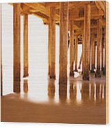 The Pier II Wood Print