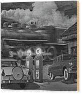 The Pumps Wood Print