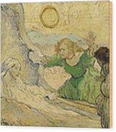 The Raising Of Lazarus Wood Print