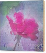 The Scent Of Roses Wood Print
