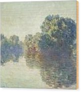 The Seine At Giverny Wood Print